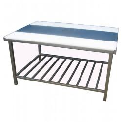 Stół z obustronnymi wkładkami